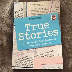 AmericanGirl Library- True Stories